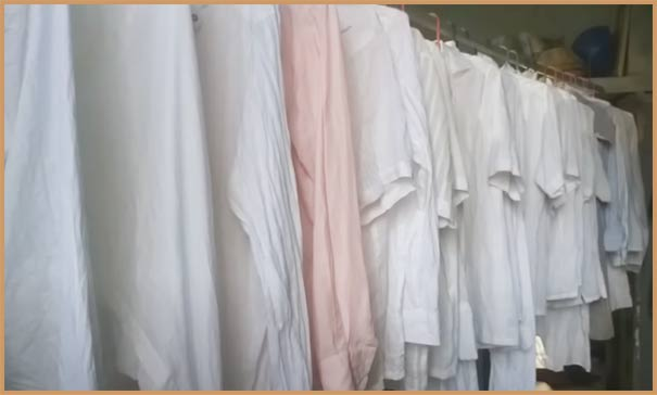 Laundry and dry cleaning business in hindi