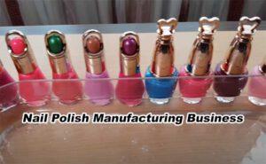 Nail Polish Manufacturing business in Hindi